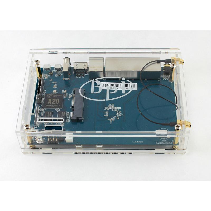 Boitier acrylique pour le routeur Banana PI BPI-R1
