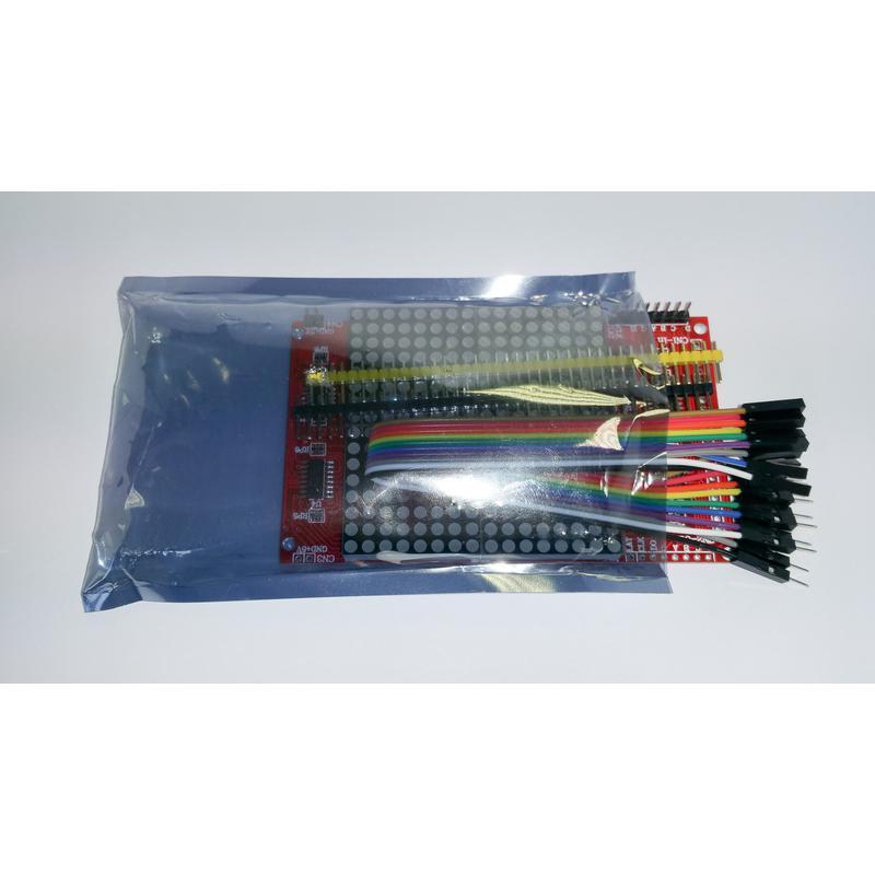 Module d'affichage à matrice de points LED 16 * 16 (Rouge)