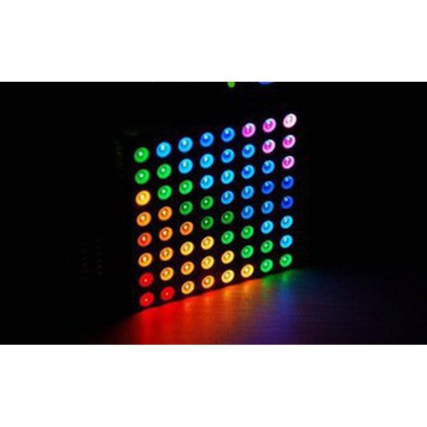 Matrice de leds RGB 8x8 60mm Anode commune