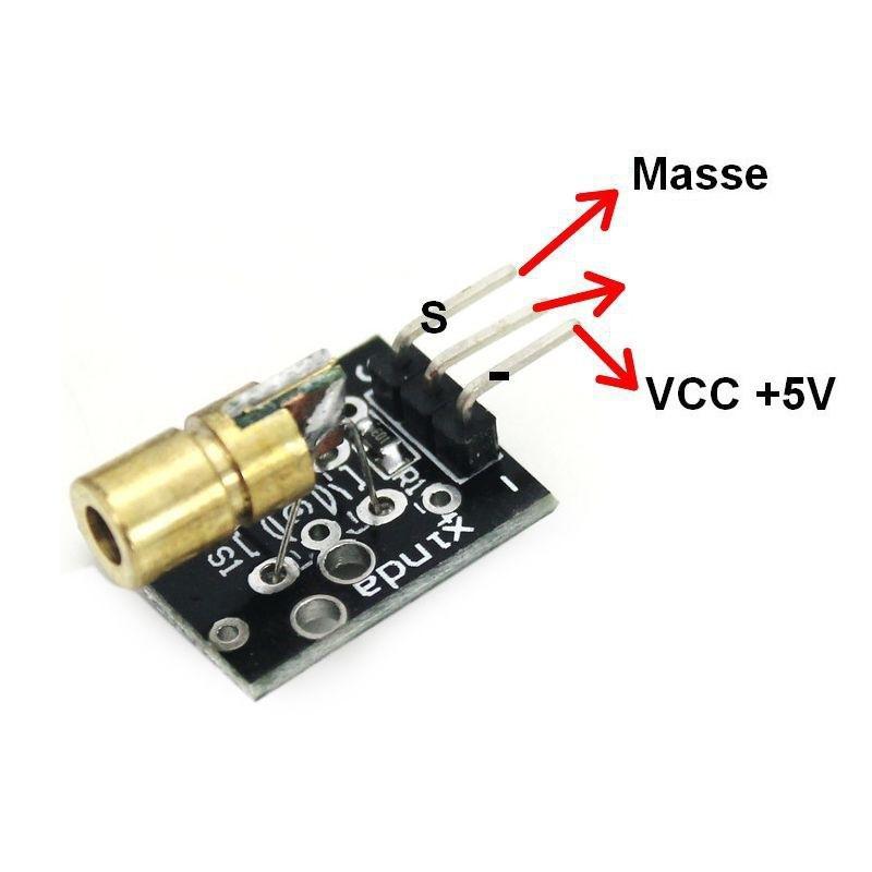 KY-008 Module émetteur Laser pour Arduino