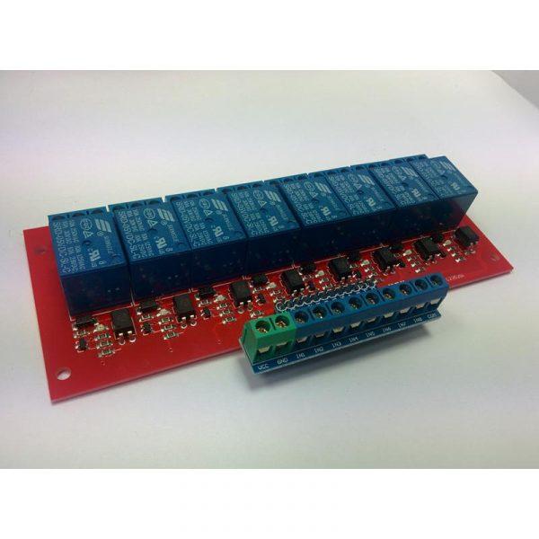 Module 8 Relais USB - 250V 10A