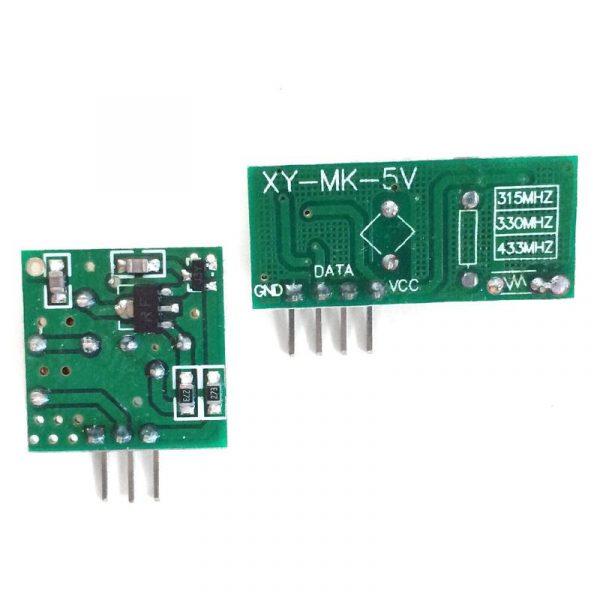 Kit Emetteur/Recepteur 433.92MHz