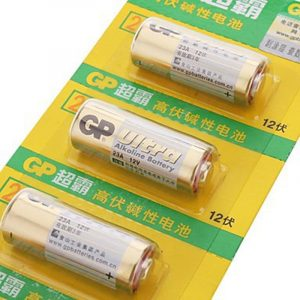 GP 23A 12V pile alcaline (5pcs)