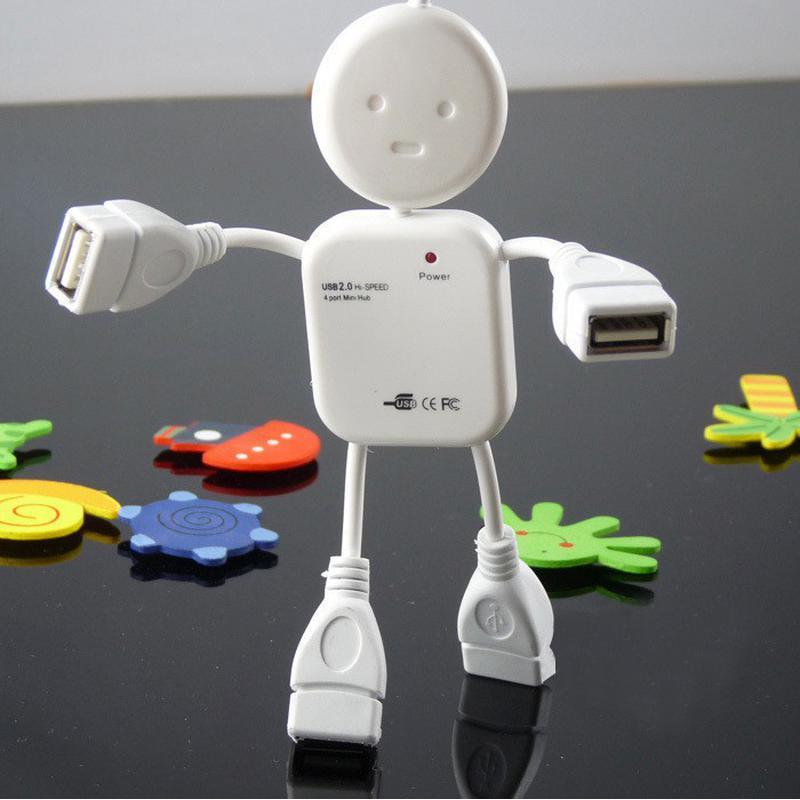 Hub USB en forme de petit homme