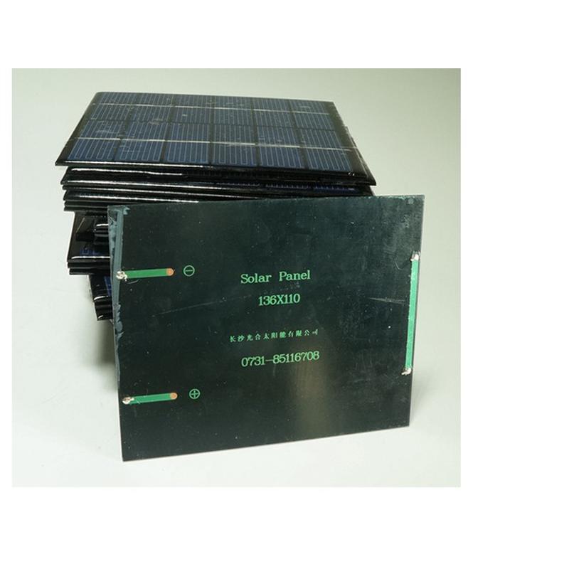 Mini panneau solaire monocristallin 6V 2W