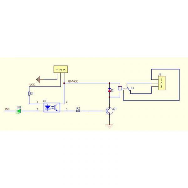 Module 2 Relais 250V 10A