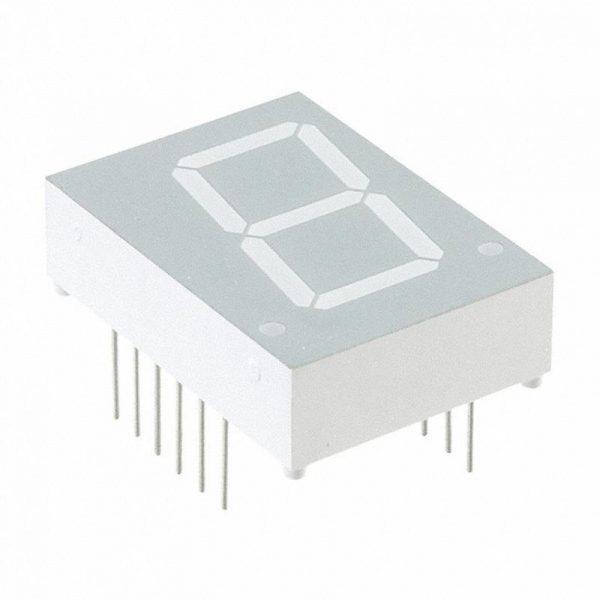 Afficheurs LED 7 segments + 2 points - Rouge - LTS-3401LWC
