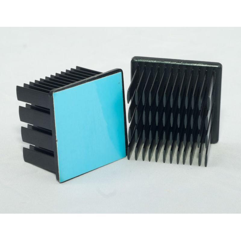 Lot de 4 Adhésifs 3M 8810 - 13x13mm recto/verso pour transfert thermique