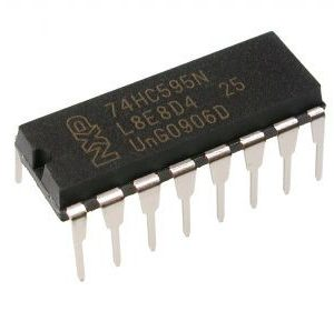 74HC595 Registre à décalage 8 bits DIP-16