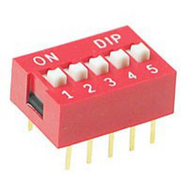 DIP Switch - 5 Interrupteurs