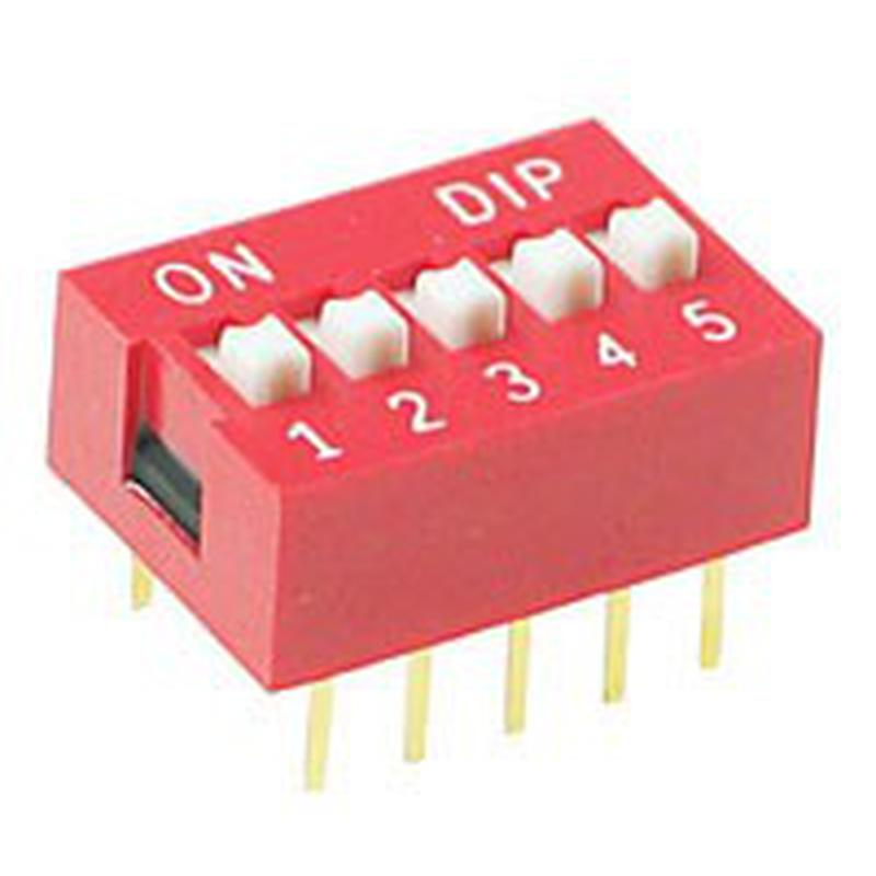 DIP Switch - 5 Interrupteurs