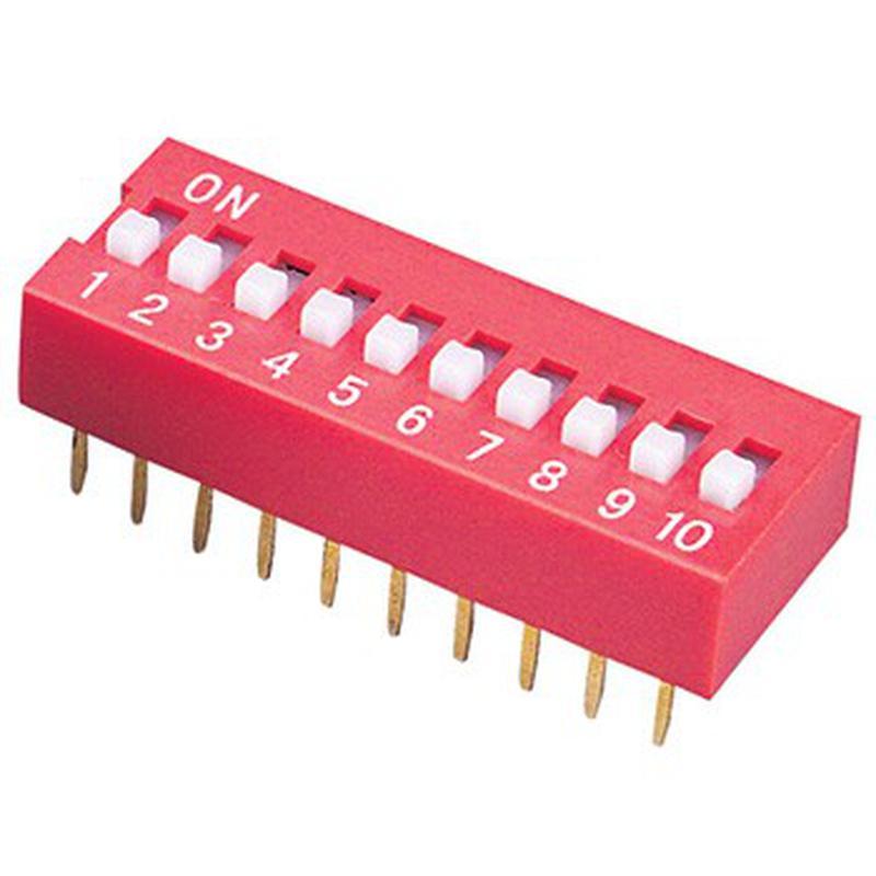 DIP Switch - 10 Interrupteurs