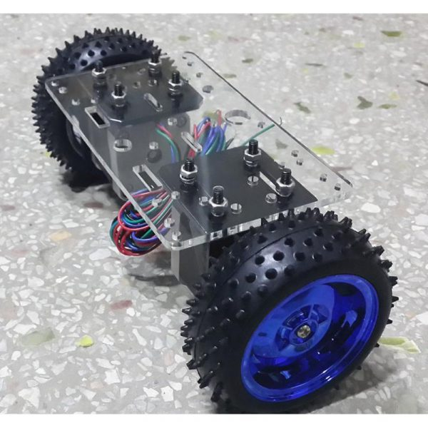 Chassis roues + moteurs pour robot pendule inverse