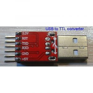 Convertisseur USB en TTL