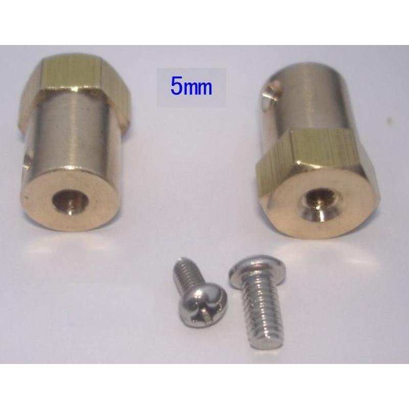 Roue diamètre 65mm + axe de couplage 5mm pour robot