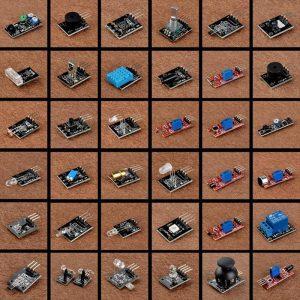 Kit de 37 capteurs pour Arduino et BananaPI
