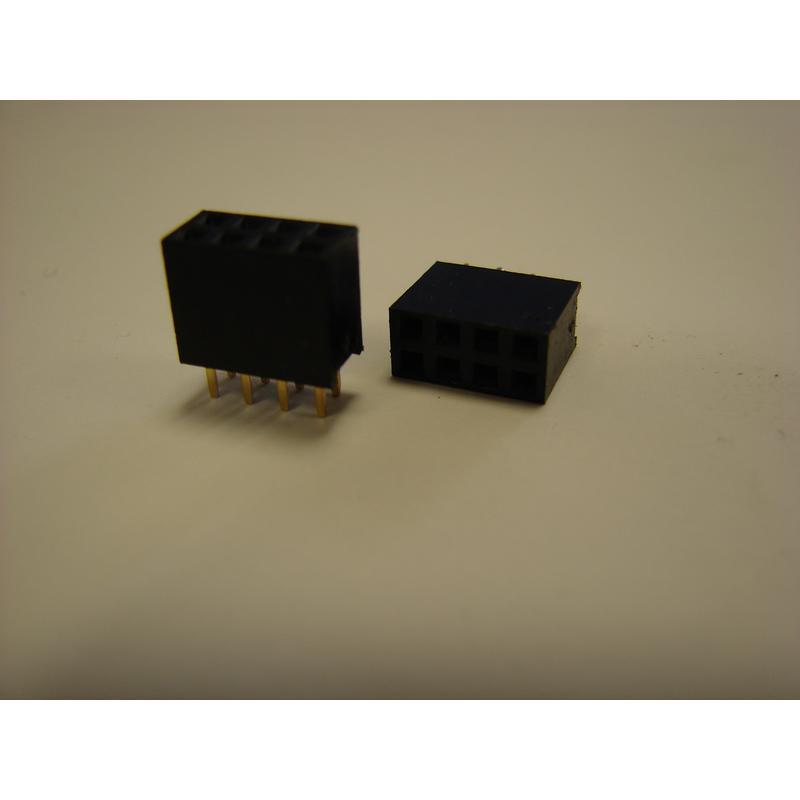 connecteur double rangé 2 * 4