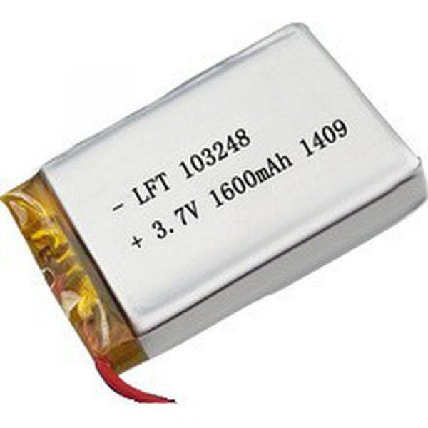Batterie 3.7V 6AH 22.2Wh LiPO