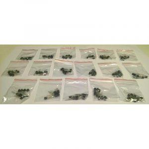 Pack de 170 transistors