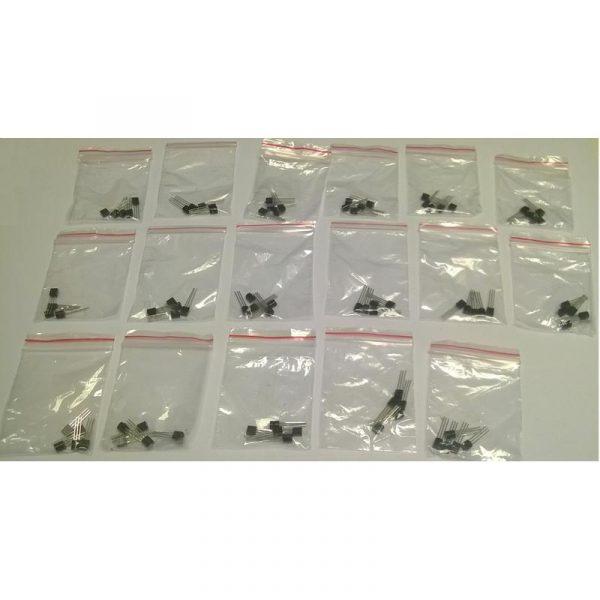 Pack de 85 transistors