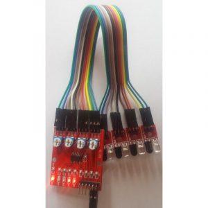 Module suiveur de ligne 4 voies infrarouge