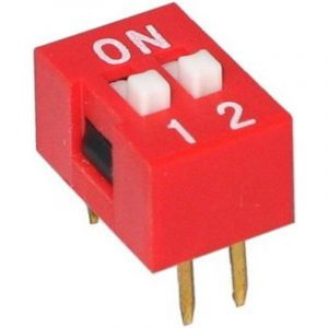 DIP Switch - 2 Interrupteur