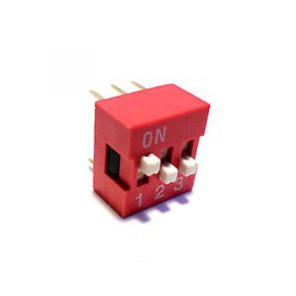 DIP Switch - 3 Interrupteurs