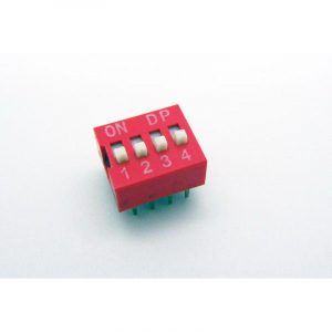 DIP Switch - 4 Interrupteurs