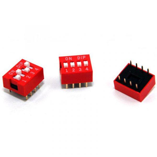 DIP Switch - 4 Interrupteurs