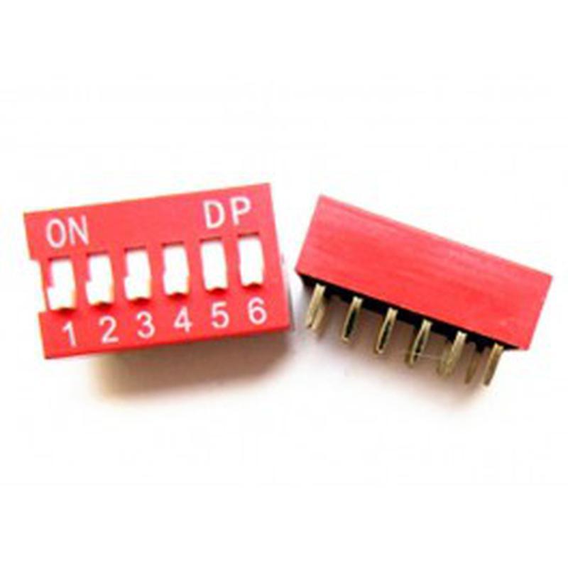 DIP Switch - 6 Interrupteurs