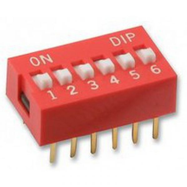 DIP Switch - 6 Interrupteurs