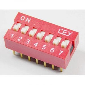 DIP Switch - 7 Interrupteurs