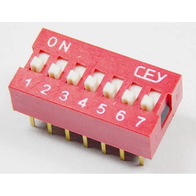 DIP Switch - 7 Interrupteurs
