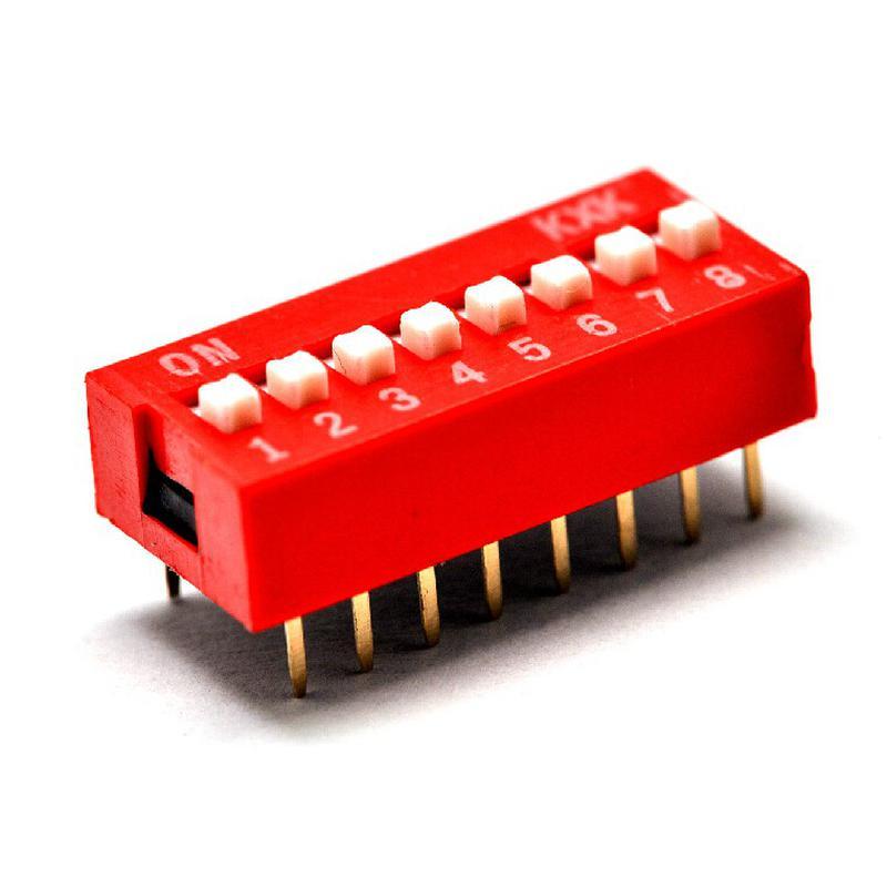 DIP Switch - 8 Interrupteurs