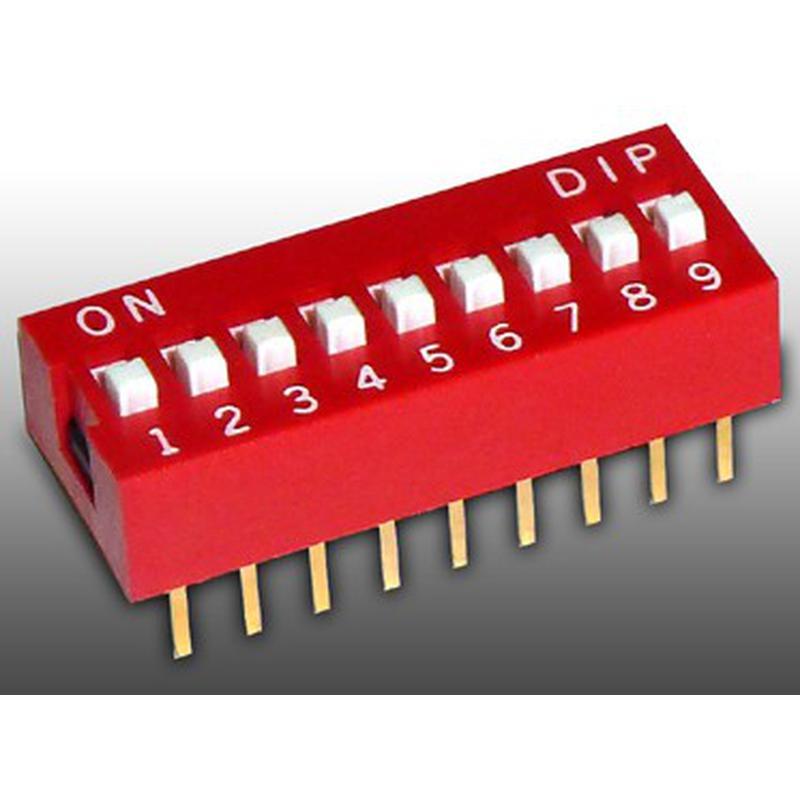 DIP Switch - 9 Interrupteurs