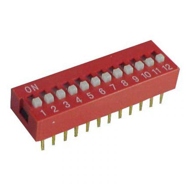 DIP Switch - 12 Interrupteurs