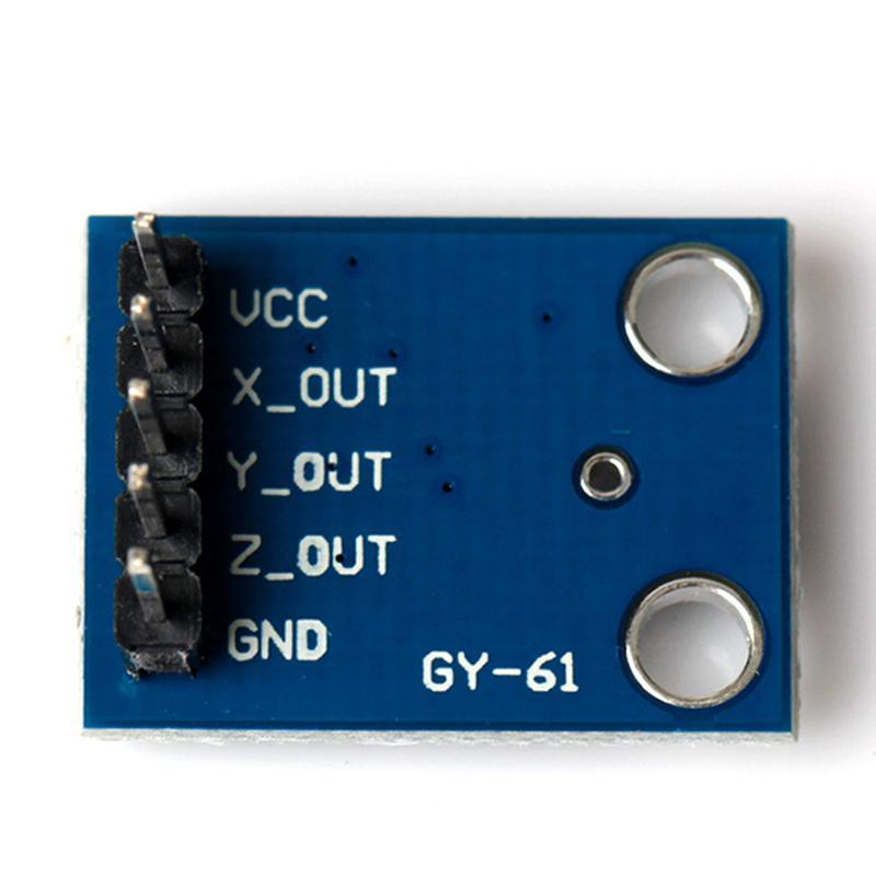 Module GY-61 - Accéléromètre 3 axes à ADXL335 - Sortie analogique