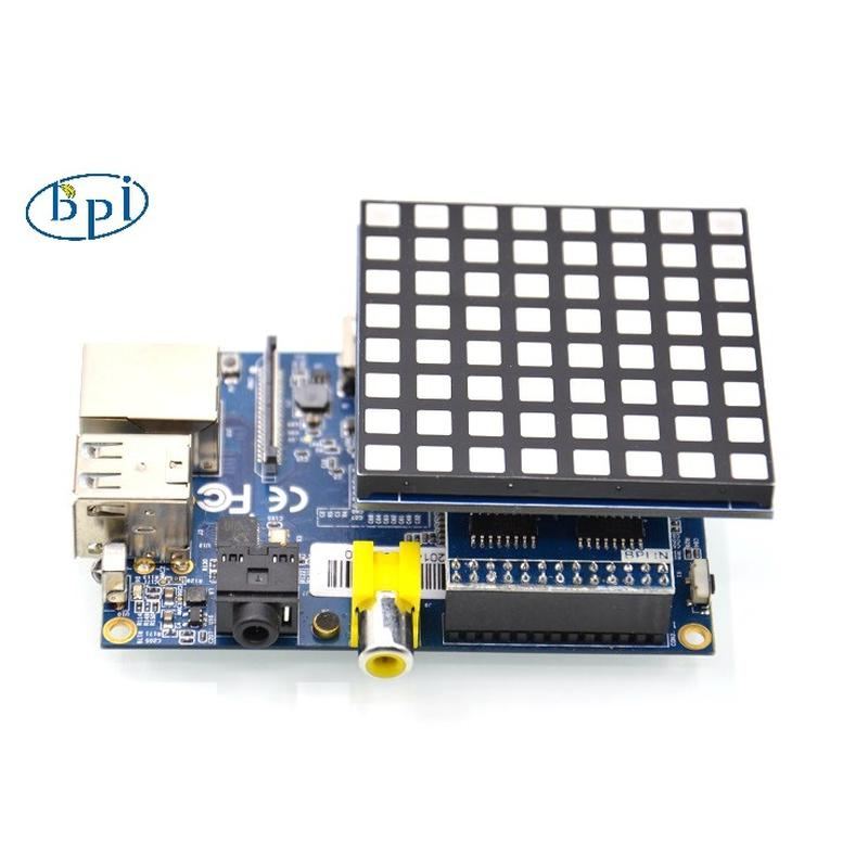 Matrice Led RGB Banana PI BPI-8x8RGB-LED
