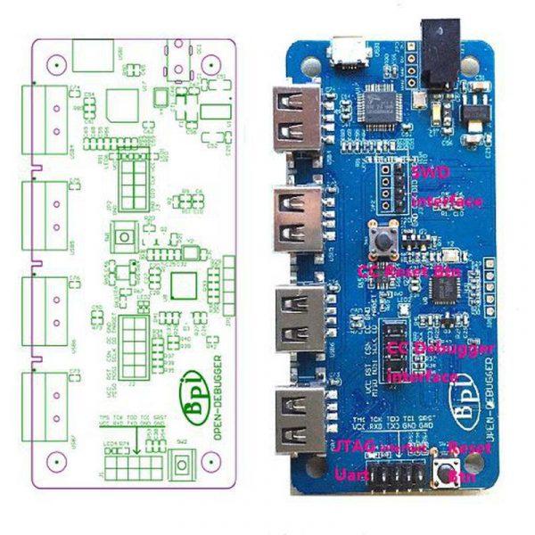 BananaPI BPI-G1 Open Debugger
