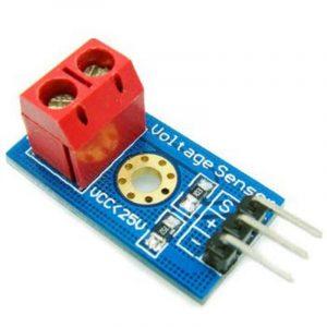 capteur tension 25V pour microcontroleur 5V