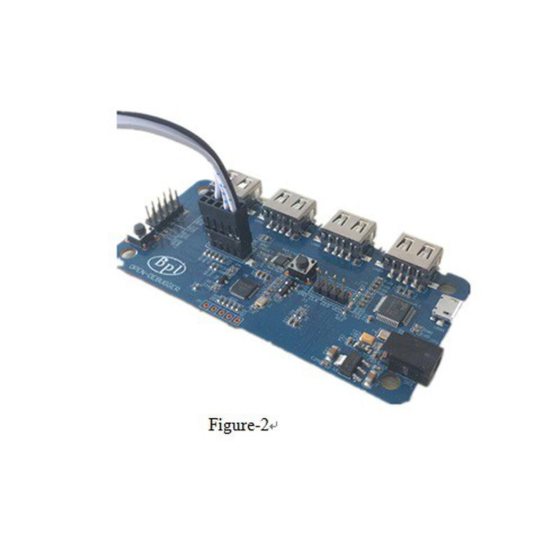 Câble prog. CC2530 et CC2540 BPI-G1