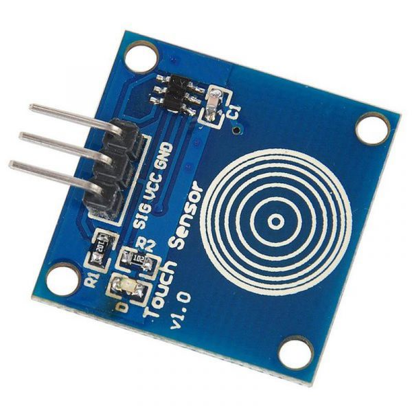 Module TTP223B - Interrupteur tactile capacitif - Arduino