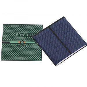 Mini panneau solaire monocristallin 5V 0.8W