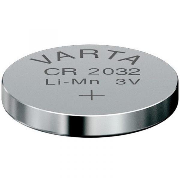 Lot de 5 piles Bouton lithium CR2032 3V