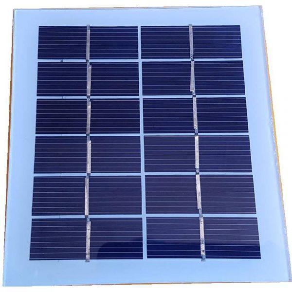 Panneau solaire monocristallin, 5.5V 400mA