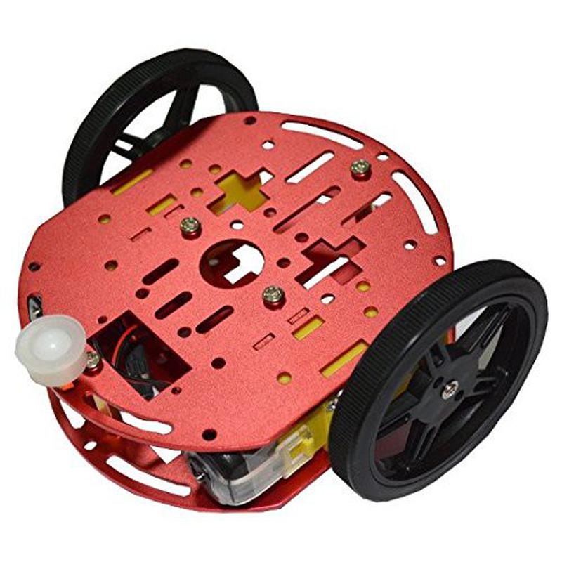 FEETECH FT-DC-002 2RM Plate-forme mobile pour Mini Robot intelligent