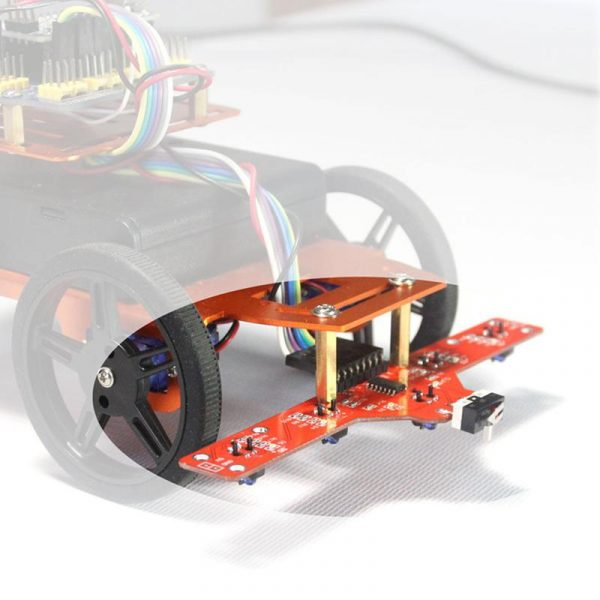 FEETECH FT-DC-002 2RM Plate-forme mobile pour Mini Robot intelligent