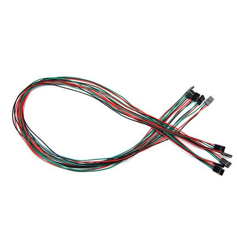 Câbles (Dupont) 3 fils 70cm avec connecteur F/F
