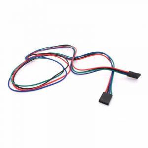 Câbles (Dupont) 4 fils 70cm avec connecteur F/F