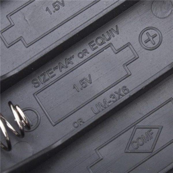 Boîtier coupleur 4 piles 1.5V AA (LR6)